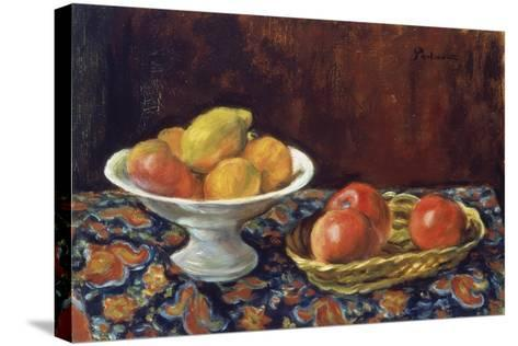Still Life with Apples, Ca 1923-Jozef Pankiewicz-Stretched Canvas Print