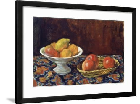 Still Life with Apples, Ca 1923-Jozef Pankiewicz-Framed Art Print