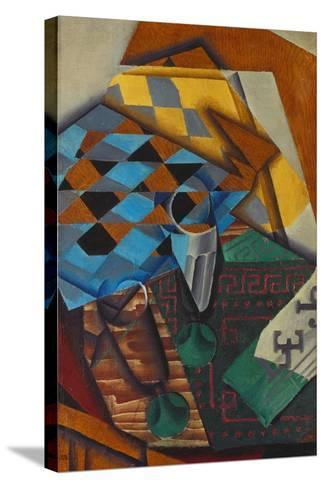 The Chess-Board, 1914-Juan Gris-Stretched Canvas Print