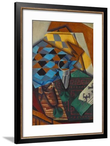 The Chess-Board, 1914-Juan Gris-Framed Art Print