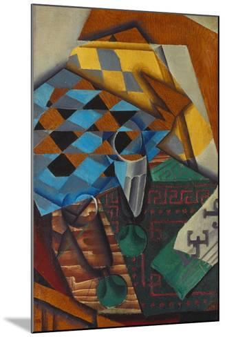 The Chess-Board, 1914-Juan Gris-Mounted Giclee Print
