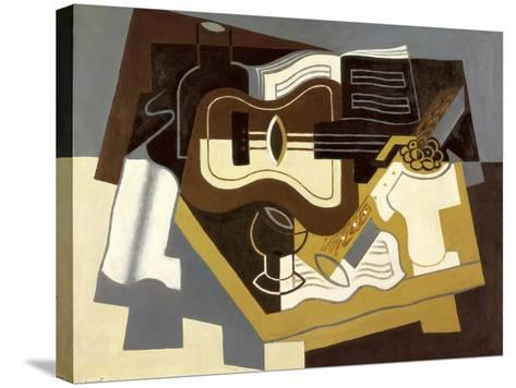 Guitar and Clarinet, 1920-Juan Gris-Stretched Canvas Print