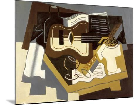 Guitar and Clarinet, 1920-Juan Gris-Mounted Giclee Print