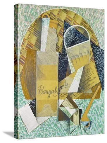 Bouteille De Banyuls, 1914-Juan Gris-Stretched Canvas Print