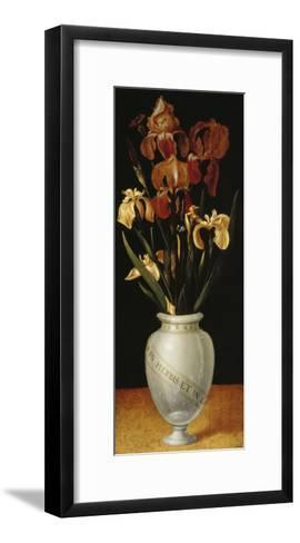 Vase with Lilies and Iris, 1562-Ludger Tom Ring-Framed Art Print