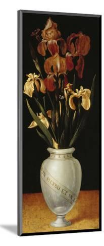 Vase with Lilies and Iris, 1562-Ludger Tom Ring-Mounted Giclee Print