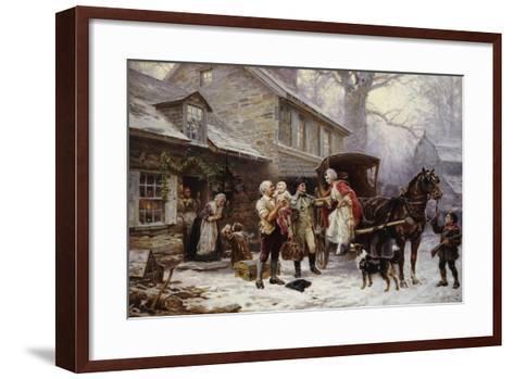 Home for Christmas-Jean Léon Gérôme Ferris-Framed Art Print
