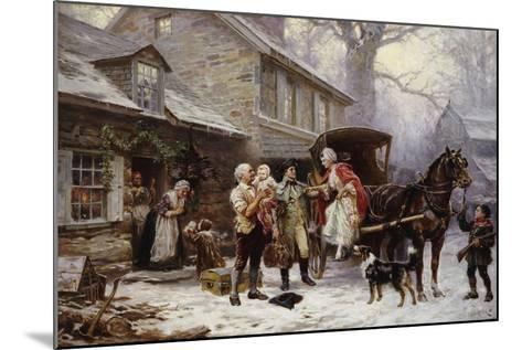 Home for Christmas-Jean Léon Gérôme Ferris-Mounted Giclee Print