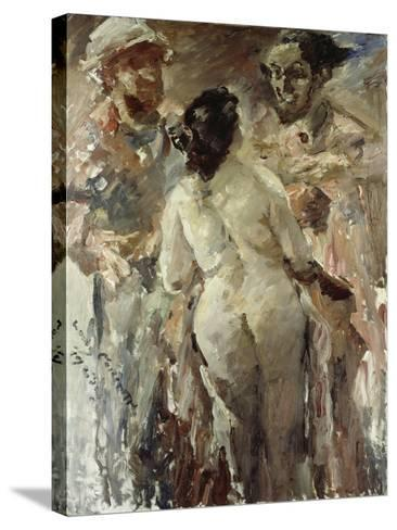 Susanna and the Elders, 1923-Lovis Corinth-Stretched Canvas Print