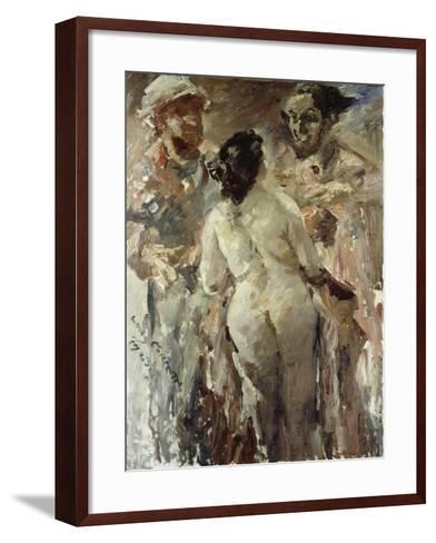 Susanna and the Elders, 1923-Lovis Corinth-Framed Art Print