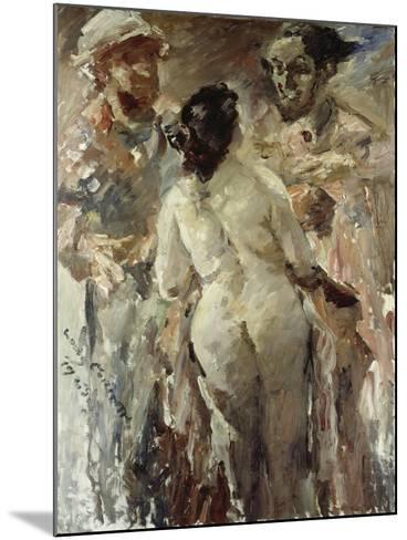 Susanna and the Elders, 1923-Lovis Corinth-Mounted Giclee Print