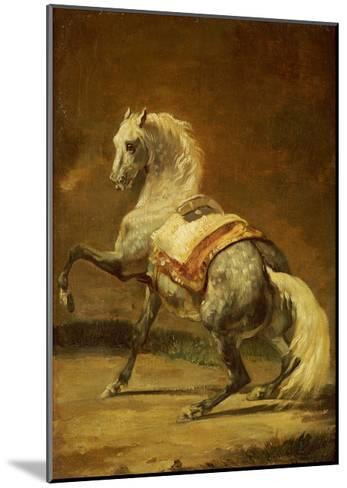 Dappled Grey Horse-Th?odore G?ricault-Mounted Giclee Print