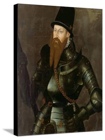 Albert Alcibiades, Margrave of Brandenburg-Kulmbach, 1557--Stretched Canvas Print