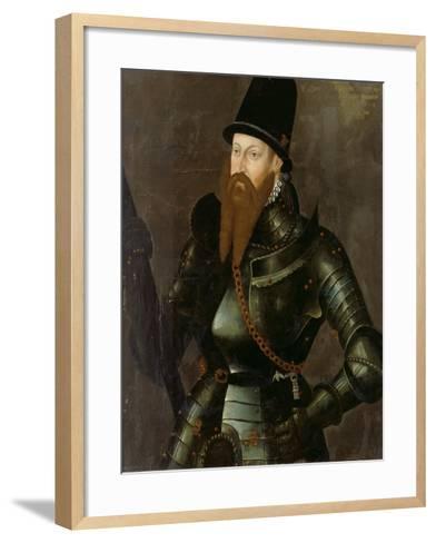 Albert Alcibiades, Margrave of Brandenburg-Kulmbach, 1557--Framed Art Print