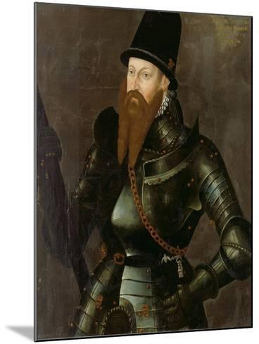 Albert Alcibiades, Margrave of Brandenburg-Kulmbach, 1557--Mounted Giclee Print