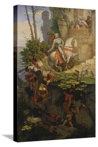 The Falkenstein Knight, 1843-44-Moritz Von Schwind-Stretched Canvas Print