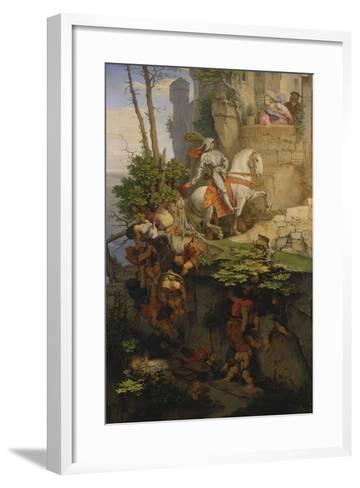 The Falkenstein Knight, 1843-44-Moritz Von Schwind-Framed Art Print