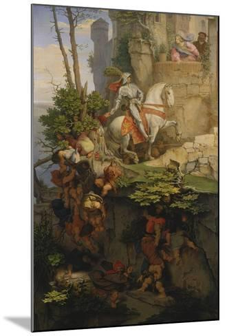 The Falkenstein Knight, 1843-44-Moritz Von Schwind-Mounted Giclee Print