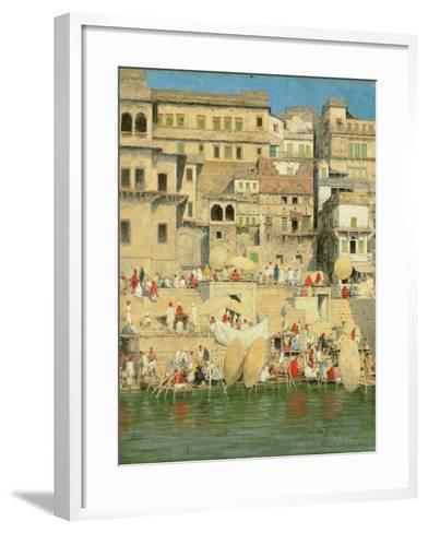Benares, Blue Is the Sky-Mose Bianchi-Framed Art Print