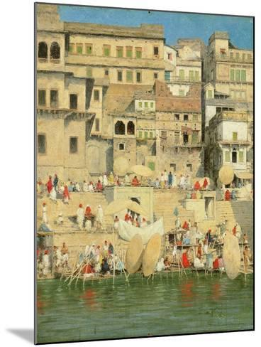Benares, Blue Is the Sky-Mose Bianchi-Mounted Giclee Print