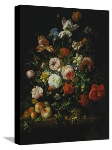 Still Life with Flowers and Fruit, 1707-Rachel Ruysch-Stretched Canvas Print