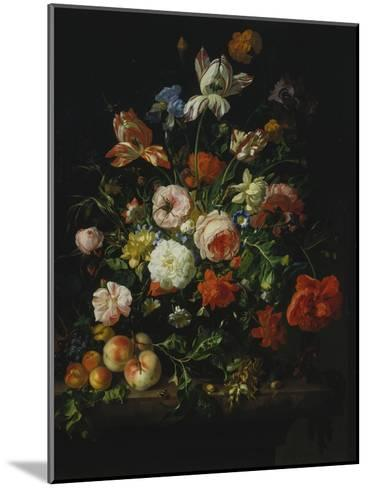 Still Life with Flowers and Fruit, 1707-Rachel Ruysch-Mounted Giclee Print