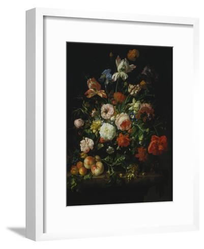 Still Life with Flowers and Fruit, 1707-Rachel Ruysch-Framed Art Print