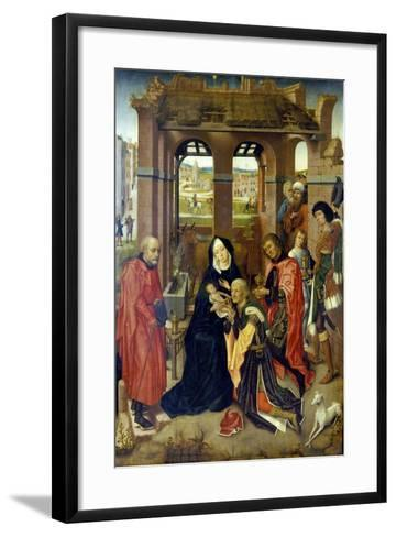 The Adoration of the Magi--Framed Art Print
