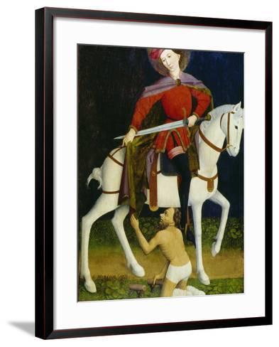 Saint Martin and the Beggar-Ulmer Meister-Framed Art Print