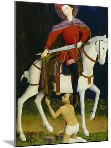 Saint Martin and the Beggar-Ulmer Meister-Mounted Giclee Print