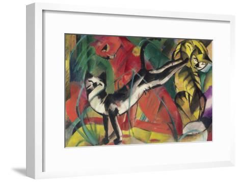 Three Cats, 1913-Franz Marc-Framed Art Print