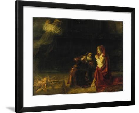 The Sacrifice of Manoah, 1641-Rembrandt van Rijn-Framed Art Print
