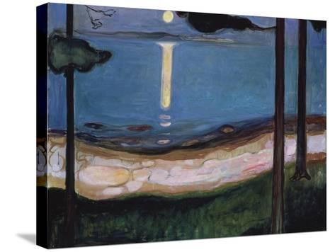 Moonlit Night, 1895--Stretched Canvas Print
