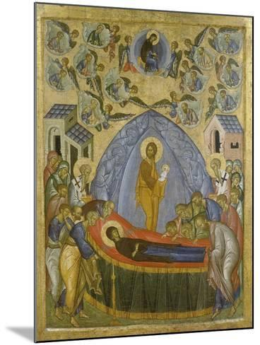 Ascension of the Virgin--Mounted Giclee Print