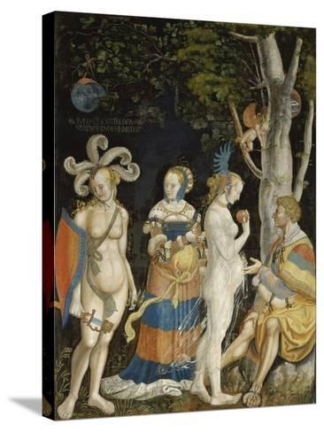The Judgement of Paris-Niklaus Manuel I Deutsch-Stretched Canvas Print
