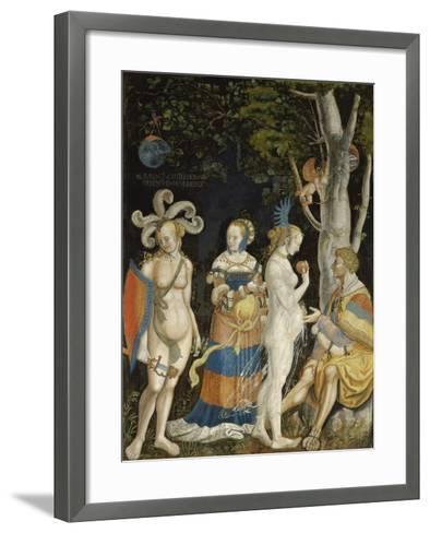 The Judgement of Paris-Niklaus Manuel I Deutsch-Framed Art Print