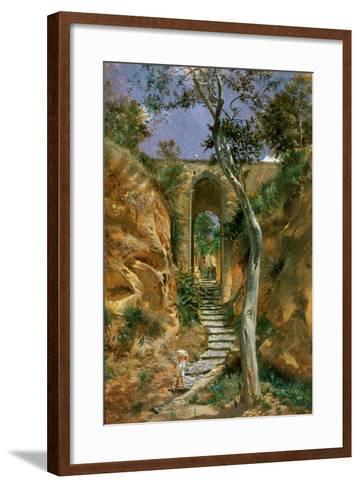 Bridge in Vico, 1858-Nikolai Gay-Framed Art Print