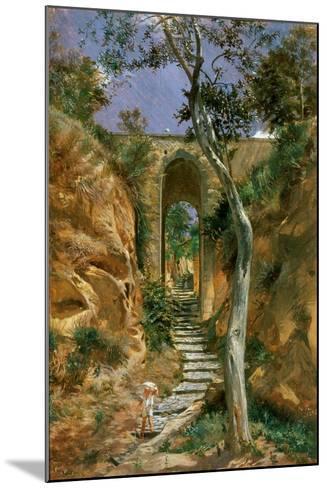 Bridge in Vico, 1858-Nikolai Gay-Mounted Giclee Print