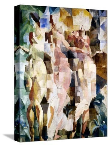 The Three Graces, 1912-Robert Delaunay-Stretched Canvas Print