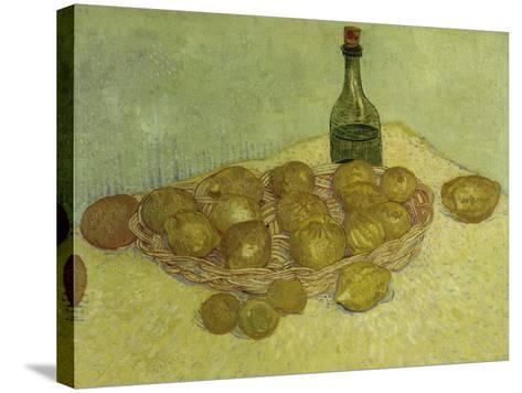 Still-Life with Bottle, Lemons and Oranges, 1888-Vincent van Gogh-Stretched Canvas Print