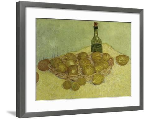 Still-Life with Bottle, Lemons and Oranges, 1888-Vincent van Gogh-Framed Art Print