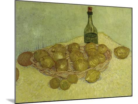 Still-Life with Bottle, Lemons and Oranges, 1888-Vincent van Gogh-Mounted Giclee Print