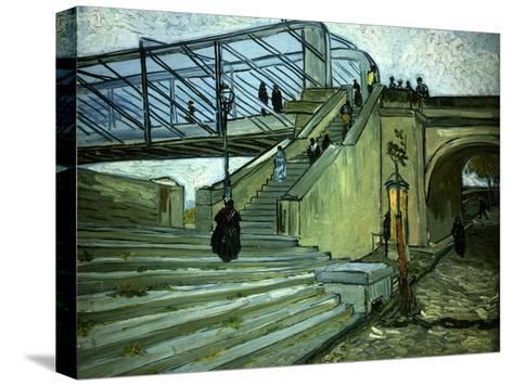 The Bridge of Trinquetaille-Vincent van Gogh-Stretched Canvas Print