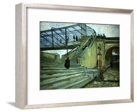 The Bridge of Trinquetaille-Vincent van Gogh-Framed Art Print
