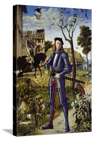 Portrait of a Knight, 1510-Vittore Carpaccio-Stretched Canvas Print