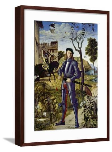 Portrait of a Knight, 1510-Vittore Carpaccio-Framed Art Print