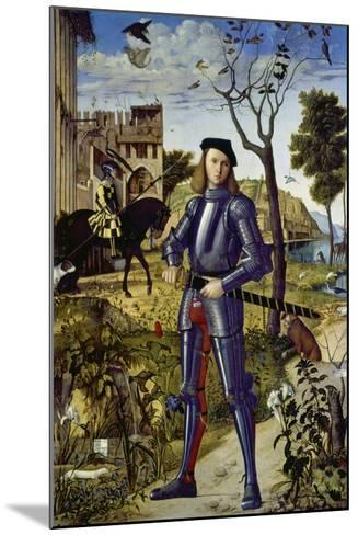 Portrait of a Knight, 1510-Vittore Carpaccio-Mounted Giclee Print