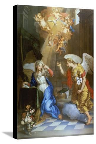 Annunciation-Oswald Onghers-Stretched Canvas Print