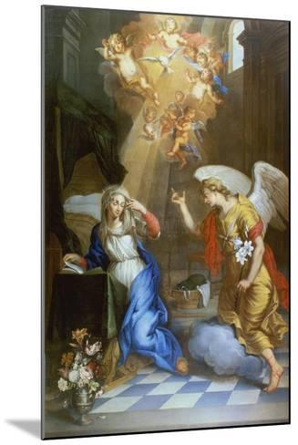 Annunciation-Oswald Onghers-Mounted Giclee Print