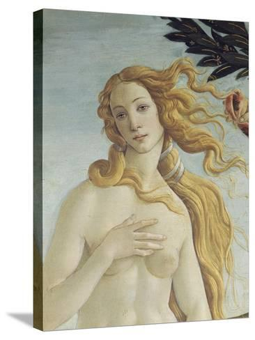 The Birth of Venus (Detail)-Sandro Botticelli-Stretched Canvas Print